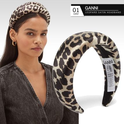Ganni Casual Style Party Style Elegant Style Headbands