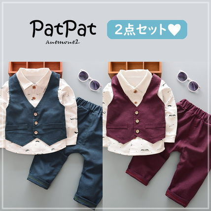 PatPat Co-ord Party Bridal Ceremony Baby Boy