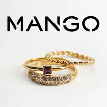 MANGO Casual Style Party Style Elegant Style Rings