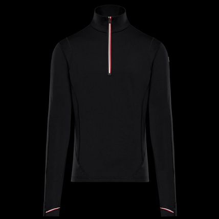 MONCLER GRENOBLE Long Sleeves Plain Sweaters