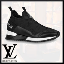Louis Vuitton Monogram Unisex Street Style Logo Loafers & Slip-ons