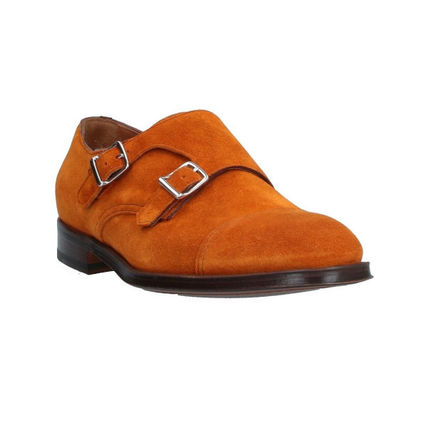 DOUCAL'S Loafers & Slip-ons Loafers Suede Street Style Plain U Tips Handmade 3