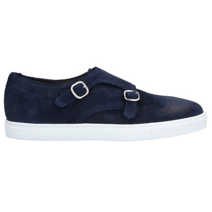 Moccasin Suede Plain Street Style U Tips Loafers & Slip-ons