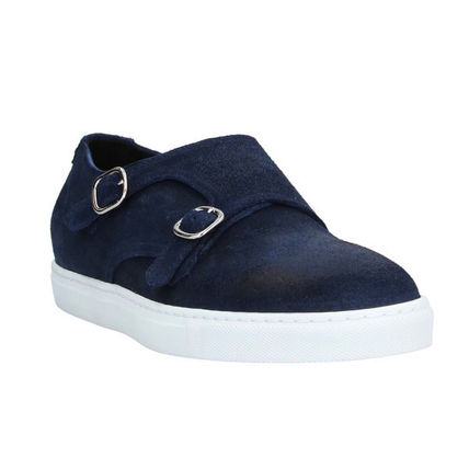 DOUCAL'S Loafers & Slip-ons Moccasin Suede Street Style Plain U Tips Loafers & Slip-ons 3
