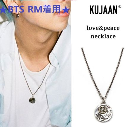 KUJAAN Necklaces & Pendants Casual Style Unisex Blended Fabrics Flower Street Style