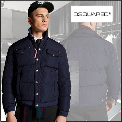 D SQUARED2 Plain Logo Down Jackets