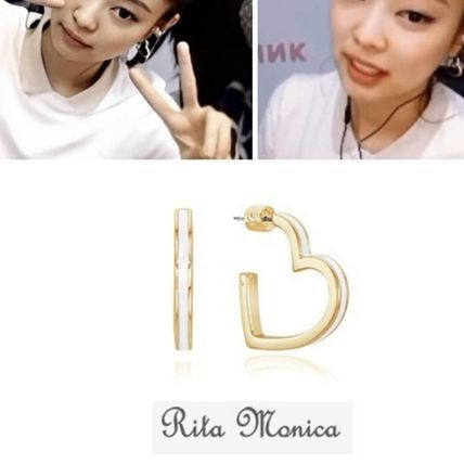 Rita Monica Earrings Casual Style Street Style Party Style Office Style