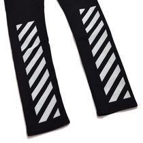 Off-White More Jeans Street Style Logo Jeans 5