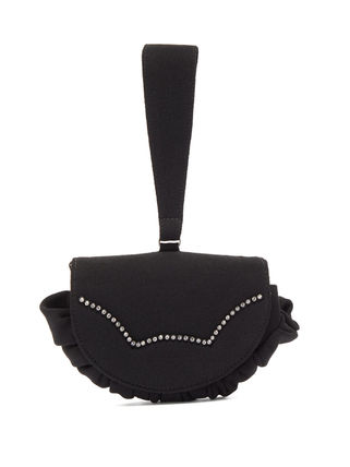 Studded Plain Party Style Elegant Style Clutches