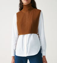 COS Casual Style Rib Plain Office Style Formal Style  Tops