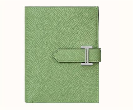 HERMES Bearn Unisex Folding Wallet Folding Wallets