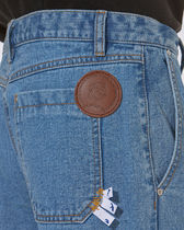 ADERERROR More Jeans Unisex Street Style Collaboration Logo Jeans 9