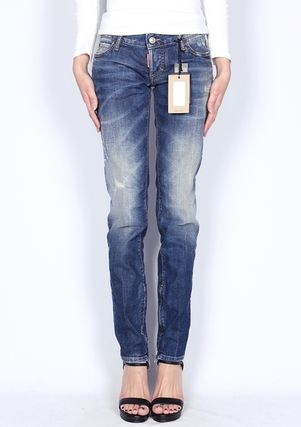 D SQUARED2 Street Style Cotton Long Skinny Jeans