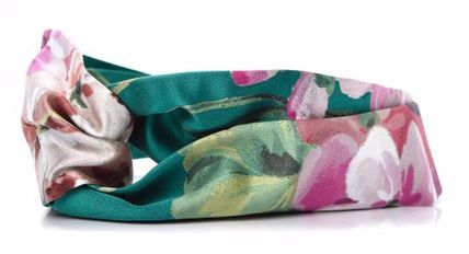 GUCCI GUCCI Silk Blooms Print Headband #414954
