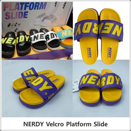 NERDY Casual Style Unisex Sandals