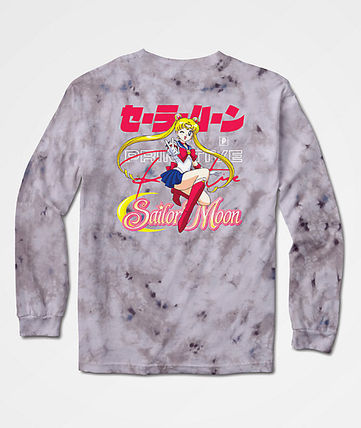 Crew Neck Tie-dye Collaboration Long Sleeves Cotton