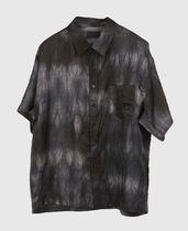Raucohouse Shirts Unisex Street Style Tie-dye Short Sleeves Shirts 10