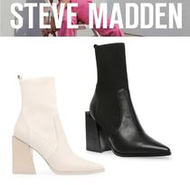 Steve Madden Suede Plain Leather Pin Heels Party Style Formal Style
