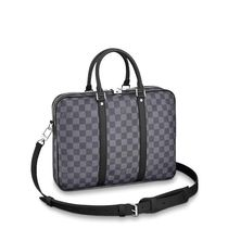 Louis Vuitton DAMIER GRAPHITE Porte-Documents Voyage Pm