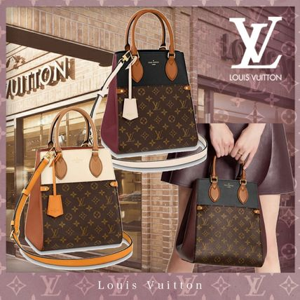 Louis Vuitton MONOGRAM Fold Tote Mm