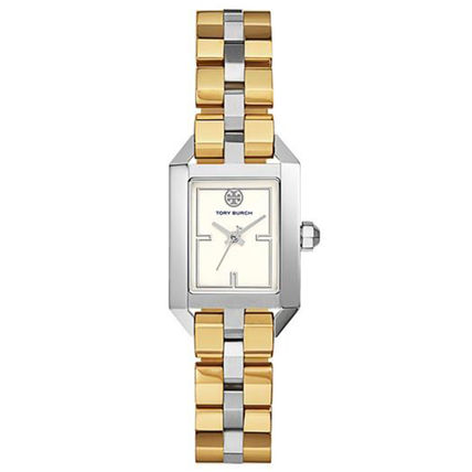 Tory Burch Casual Style Square Party Style Quartz Watches
