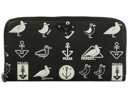 Unisex Other Animal Patterns Leather Long Wallet  Logo