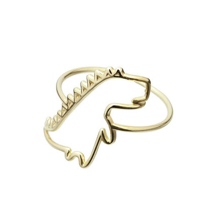 Casual Style Animal Street Style Rings