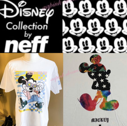 NEFF More T-Shirts Tropical Patterns Collaboration Short Sleeves