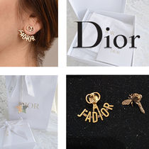 Christian Dior JADIOR Casual Style Party Style Elegant Style Earrings