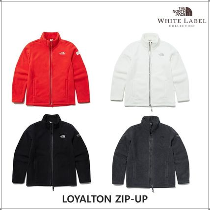 THE NORTH FACE WHITE LABEL Short Unisex Shearling Fleece Jackets Jackets
