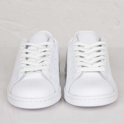 Casual Style Collaboration Plain Low-Top Sneakers