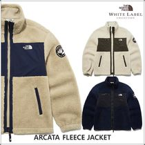 THE NORTH FACE WHITE LABEL Casual Style Unisex Medium Shearling Fleece Jackets Jackets