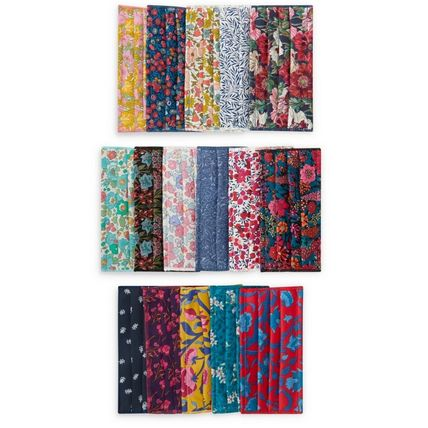Flower Patterns Dots Casual Style Cotton Accessories