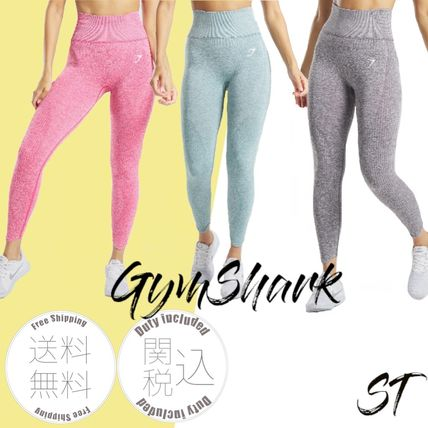 Blended Fabrics Street Style Activewear Bottoms