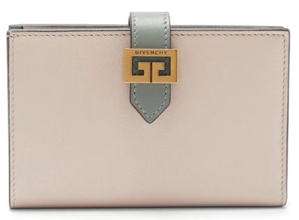 GIVENCHY GV3 Calfskin Blended Fabrics Plain Leather With Jewels