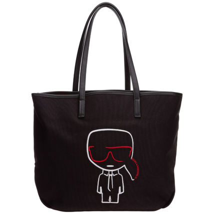 Casual Style Unisex Street Style Bag in Bag 2WAY Plain