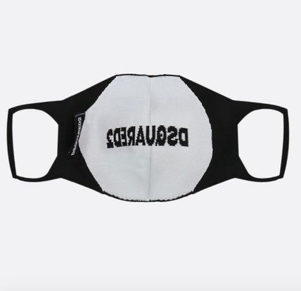 D SQUARED2 Logo Unisex Street Style Accessories
