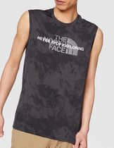 THE NORTH FACE Street Style Plain Logo Outdoor Tanks