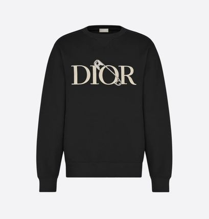 Christian Dior Long Sleeves Cotton Logo Luxury Tops