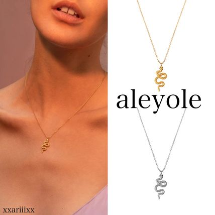 Casual Style Animal Street Style Chain Silver 18K Gold