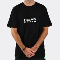 HELAS More T-Shirts Street Style Cotton Short Sleeves Logo Skater Style T-Shirts 4