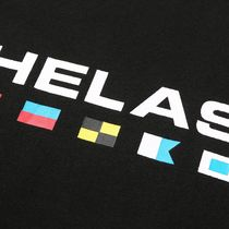 HELAS More T-Shirts Street Style Cotton Short Sleeves Logo Skater Style T-Shirts 7