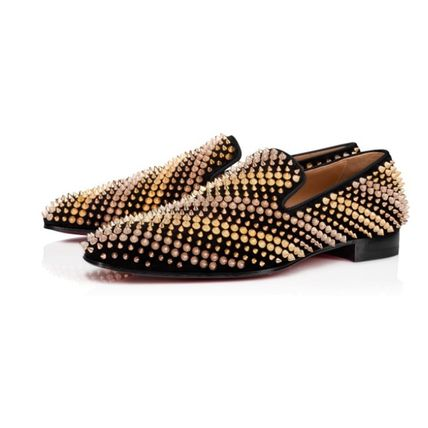 Christian Louboutin Moccasin Loafers Suede Loafers & Slip-ons