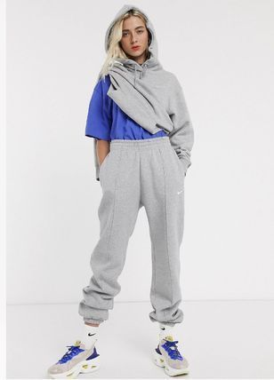 Nike Casual Style Street Style Cotton Long Sarouel Pants
