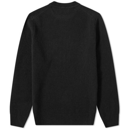 Crew Neck Wool Long Sleeves Designers Sweaters