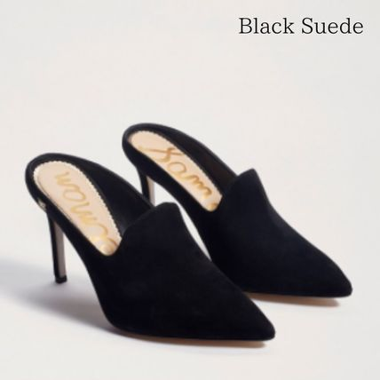 Casual Style Suede Leather Office Style Elegant Style