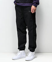 HUF Street Style Plain Men Skinny Pants