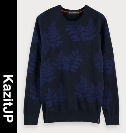 Tropical Patterns Long Sleeves Surf Style Sweaters