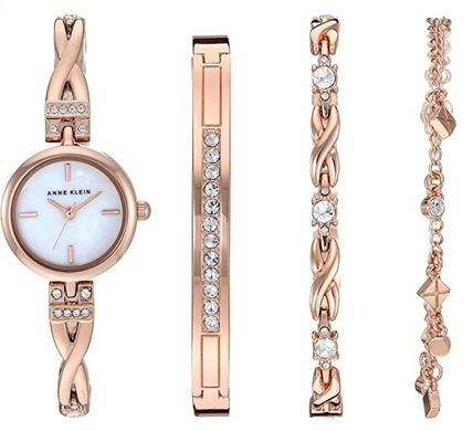 Casual Style Round Jewelry Watches Office Style