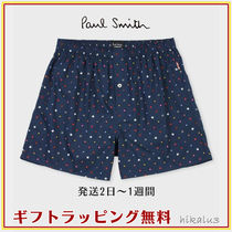 Paul Smith Dots Cotton Logo Trunks & Boxers